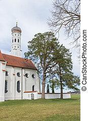 St. Coloman Church - St. Coloman pilgrimage church, Allgau...