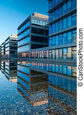 Office buildings in Prague