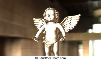 Digital Animation of an Angel
