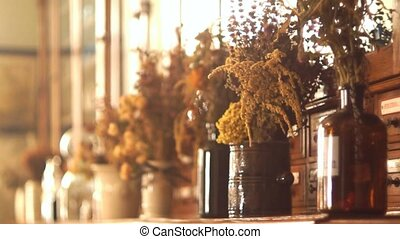 Flowers dried vase - Dried flowers bouquet vase bucket