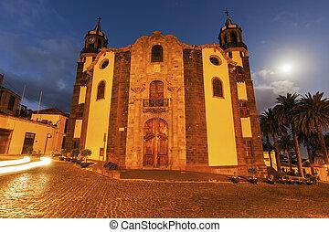 Immaculate Conception Church in La Orotava. Orotava,...