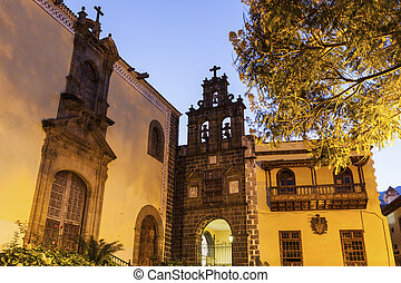 San Agustin Church in La Orotava. Orotava, Tenerife, Canary...