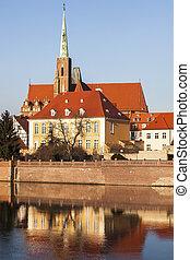 Wroclaw Collegiate Church. Wroclaw, Lower Silesian, Poland.