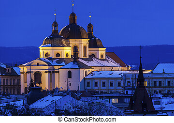 Panorama of Olomouc. Olomouc, Olomouc Region, Czech...