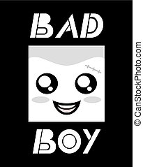 Bad boy icon
