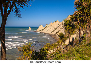 Cape Kidnappers near Napier New Zealand