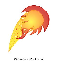 colorful silhouette with yellow olympic flame vector...