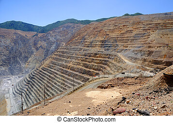 Bingham Kennecott Copper Mine