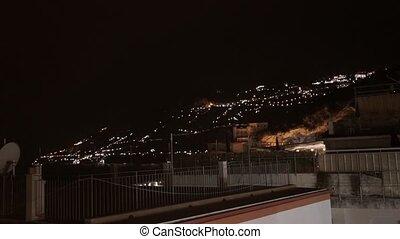 Amalfi at night - Amalfi cityscape at night