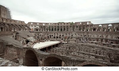 Colosseum in Rome inside