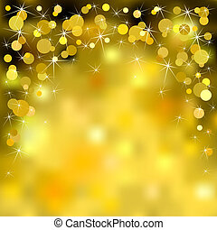 Christmas background - Christmas gold sparkle shiny...