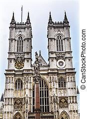 Front Facade Westminster Abbey London England - Front Facade...