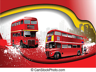 Cover for brochure with London