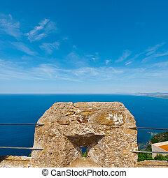 Mediterranean Sea - Views of the Mediterranean Sea through...