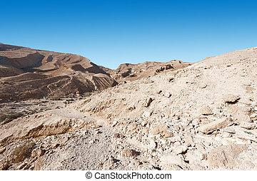 Negev Desert - Rocky Hills of the Negev Desert in Israel
