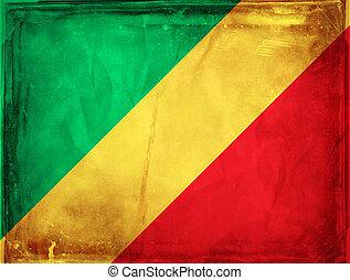 Congo - Grunge flag series - Congo