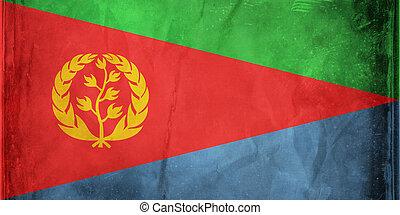Eritrea - Grunge flag series -  Eritrea