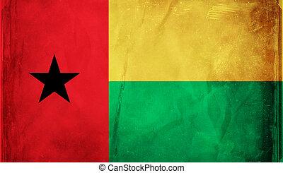 Guinea Bissau - Grunge flag series -  Guinea Bissau