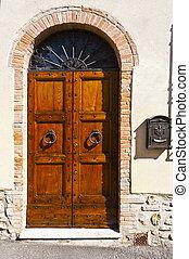 Door with Post Box