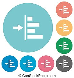 Increase left indentation of content flat round icons -...