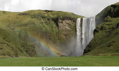 Skogafoss in Iceland - Famous and photography friendly...
