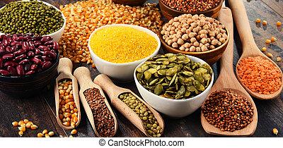 食物, 素食主義者, 成分, 作品, 品種