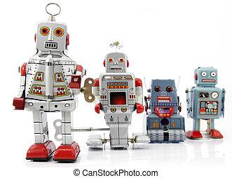 robot - retro robot group