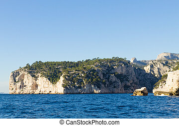Calanques National Park view, France - Beautiful nature of...