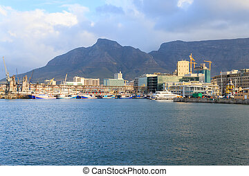 Victoria and Alfred Waterfront, Cape Town, South Africa....