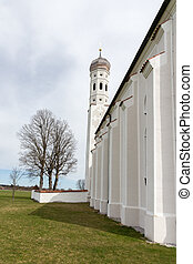 St. Coloman Church - St. Coloman pilgrimage church, Allgau...