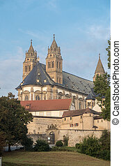 Comburg Monastery - View onto Comburg Monastery, a famous...