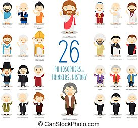 Kids Vector Characters Collection: Set of 26 Great...