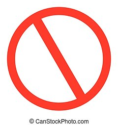 no parking traffic sign - Vector illustration of the no...