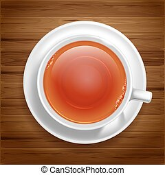 White tea cup