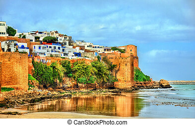 Kasbah of the Udayas in Rabat, Morocco - Kasbah of the...