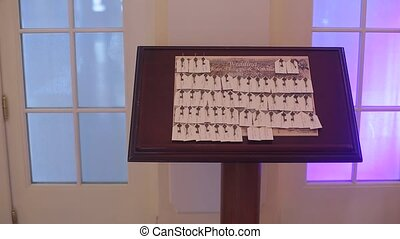 Seating plan on a party - Seating plan on a wedding party
