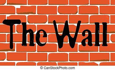 Mexican Wall Graffiti
