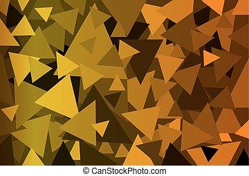 Triangle - geometric vector background - Triangle -...
