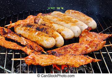 barbecue bratwurst 10