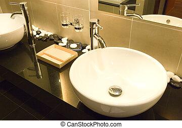 Wash Basins - Image of a nice pair of wash basins.