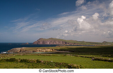 Sybil Point in Irland - coast in Ireland, Kerry near Dingle