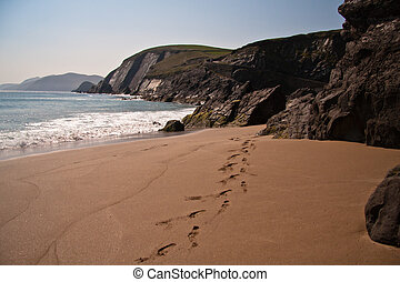 beach in Ireland - Beach in Dingle Kerry, Ireland