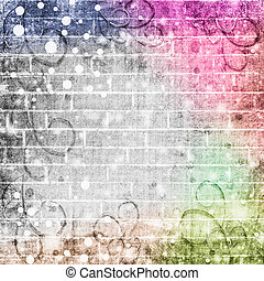 Abstract brick wall background for your design