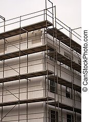 Insulation on building - Thermo insulation on a building