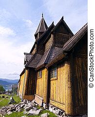 Urnes Stave Church - Urnes stave church (Norwegian: Urnes...