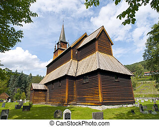 Kaupanger Viking Church - Kaupanger stave church (Kaupanger...