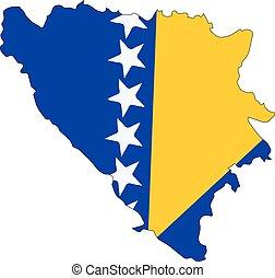 Bosnia and Herzegovina map - Map of bosnia Herzegovina...