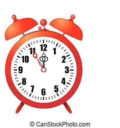 alarm clock - vector