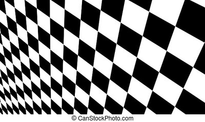 Checkered black and white Motion Background made in AE cs5...