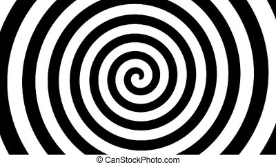 Colorful spiral in motion ready for hypnosis